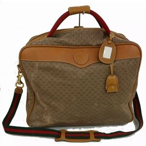 AUTHENTIC GUCCI TRAVEL BAG WITH PADLOCK